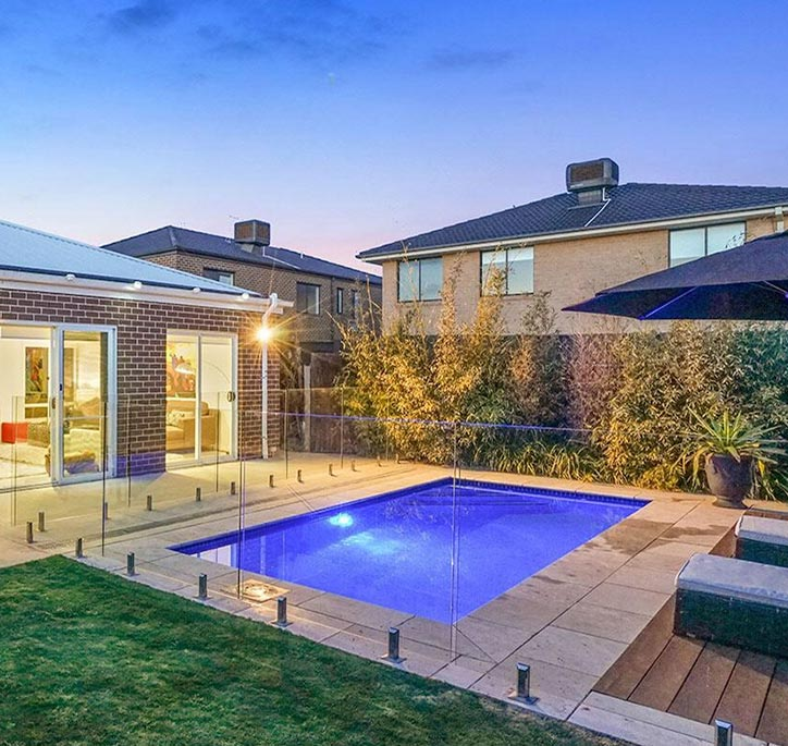 Courtyard Pool Styles & Designs Melbourne